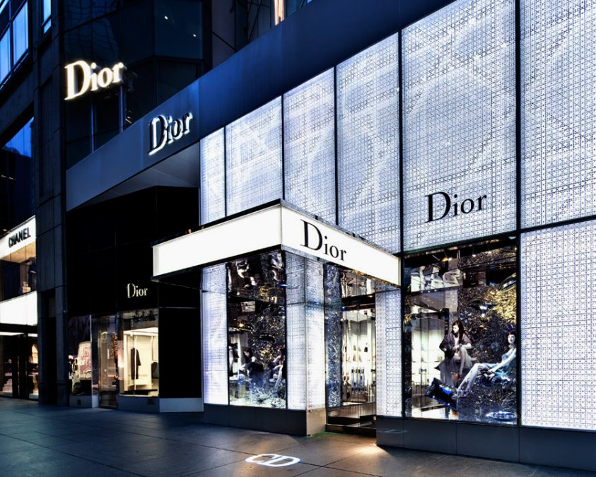 Hennessy Lighting Design Dior Facade