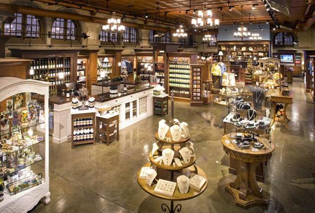Hennessy Lighting Design Biltmore Gift Shop