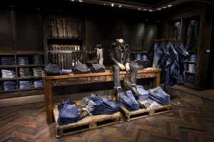 Men's Denim Feature and Accessories Wall Lighting