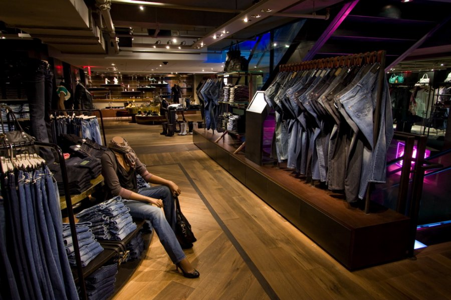 2nd Floor - Womens Denim Area