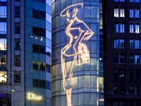 Dior - 57th Street - Grand Opening Specialty Facade Lighting (LEDneon by others)