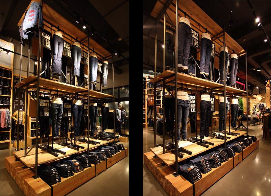 Hennessy Lighting Design Levis Store