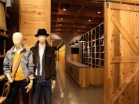Fitting Room Corridor and Mannequin display lighting