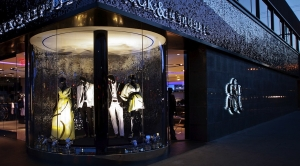 Rock & Republic store window lighting design